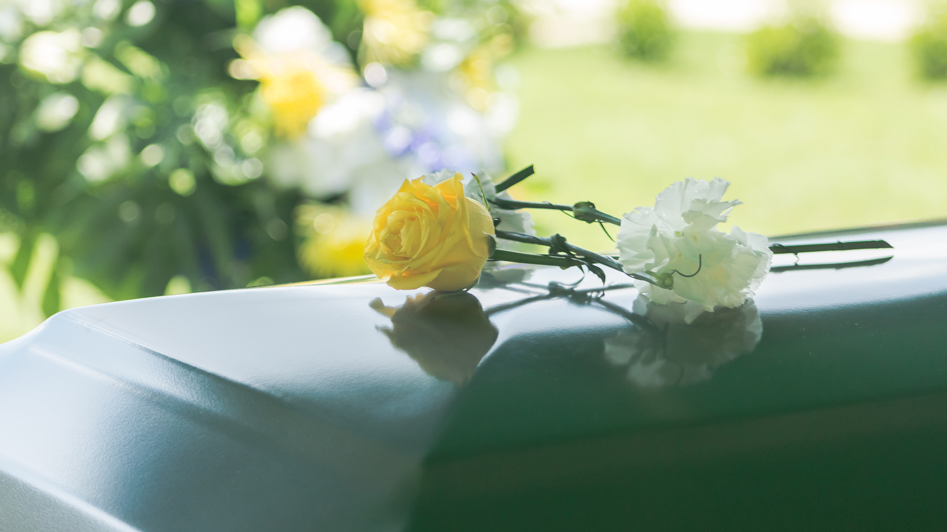 Cremation committal words at a funeral Cover Image